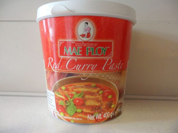 Mae Ploy Red Curry paste 400g.