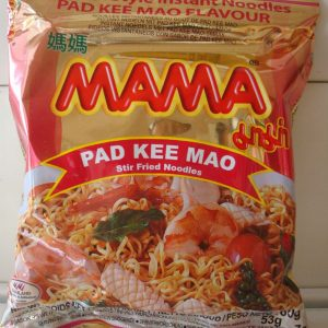 Mama Pad Kee Mao Stir Fried Noodles