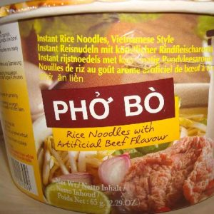 """Mama Instant Bowl Vietnamese Beef """" Pho Bo""""   Noodles"""