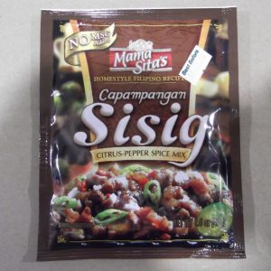 Mama Sita's Sisig Mix. A citrus pepper spice mix for meat. – A taste waiting to be discovered.