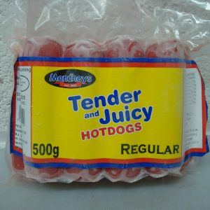 Mandhey's Regular Tender juicy Hotdogs