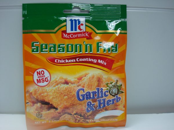 McCormick Chicken Coating Garlic & Herbs