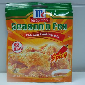 McCormick Chicken Coating Mix Spicy NEW