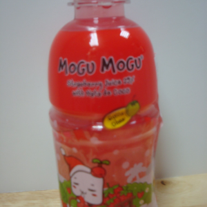 Mogu Mogu Drink Strawberry Flavor NEW