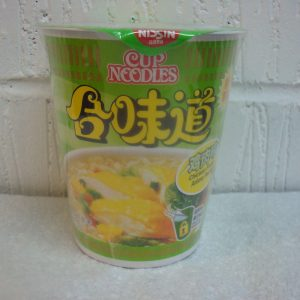 Nissin Hongkong – Chicken Flavour cup noodles