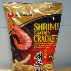 Nong Shim Shrimp Flavoured Crackers Hot & Spi...