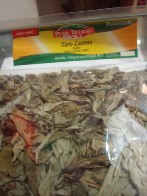 Pearl Delight Dried Taro Leaves