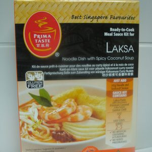 Prima Taste Laksa Noodle Kit. –  A noodle dish with spicy Coconut Sauce