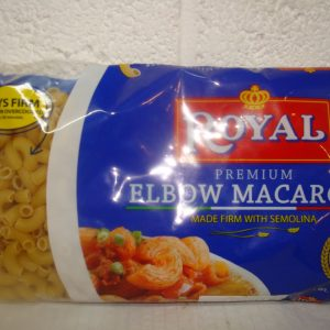 Elbow Macaroni 400g Blue Packet Royal Premium