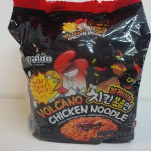 Volcano Chicken Noodle,Artificial Beef and Chicken Flavour,Paldo,Korean
