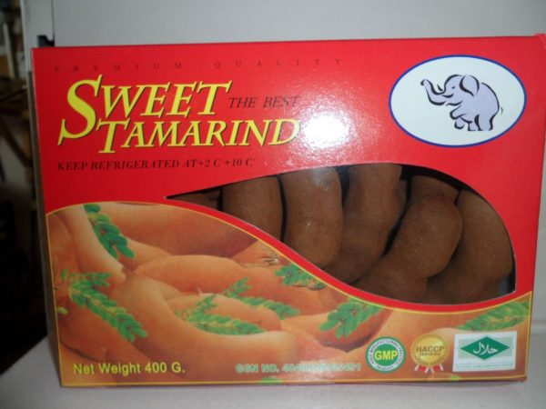 Sweet Tamarind fruit. 1 box of 500gms.  Back in stock.
