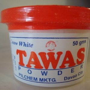 Tawas Deodorant powder. None Perfumed.  Dont lose friends because of KiliKili Power.