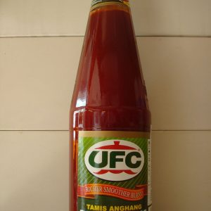 UFC Tamis Anghang Ketsup – Banana sauce – A richer smoother blend.