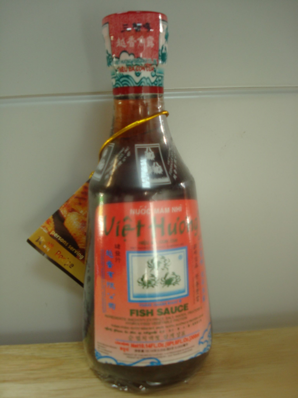 Vietnamese  Three Crabs Fish Sauce. 300 ml.