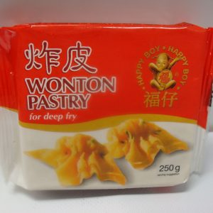 Wonton Pastry 250g. for deep fry
