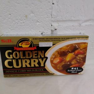 Japanese Curry S&B Golden (Hot)