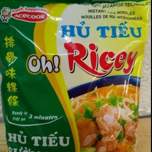 Noodles Spare Ribs Flavour, Ace Cook, Oh Ricey