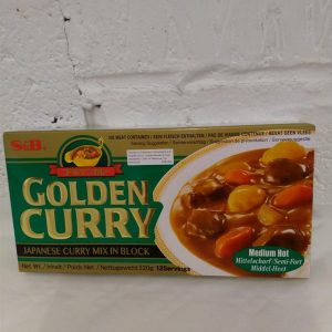 Japanese Golden Curry Mix Medium Hot S&B