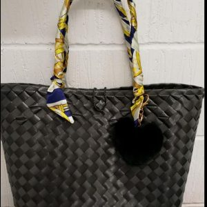 Hardwearing, Native Bag, Bayong, From the Philippines, Black