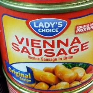 Vienna Sausage Chicken Pang Lasang Pinoy,Lady's Choice Brand