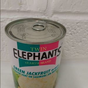 Green Jackfruit in Brine Suitable for Vegetarian Organic Twin Elephant Brand