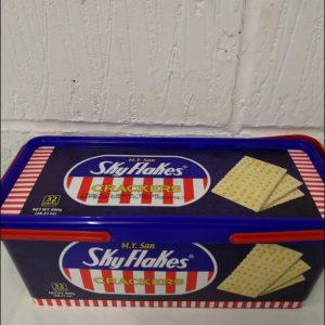 Sky Flakes in Tub,Biscuits, Pinoy Crackers