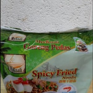 Spicy Fried Noodle with Dried Shrimp,Goreng Pedas,Mykuali  4Pack NEW
