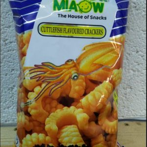 Cuttlefish Flavoured Crackers,Miaow the House of Snacks NEW
