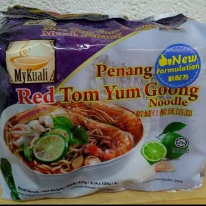 Mee Red Tom Yum Goong Noodle,Merah Penang,MyKuali New Formulation