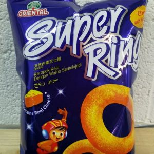 Oriental Super Ring Contains Real Cheese,Taste Lik...