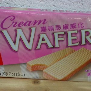 Strawberry Flavour Cream Wafers,Garden