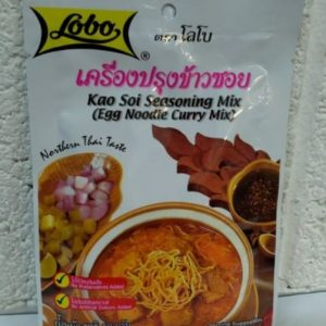Kao Soi, Seasoning Mix, (Egg Noodle Curry Mix) Lob...