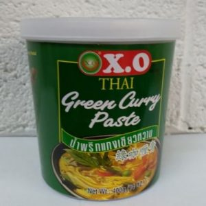 X.O Green Curry Paste,Product of Thailand
