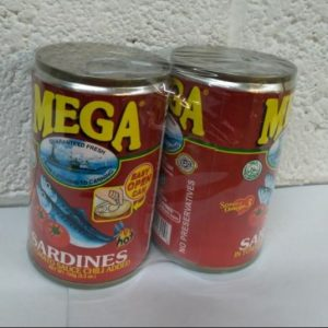 Mega Sardines Hot in Tomato Sauce, Value Pack