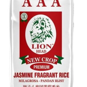 Triple AAA Milagrosa Jasmine Rice,Lion Head Brand ...