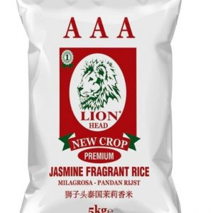 Triple AAA Lion Head Jasmine Fragrant Rice 5kg