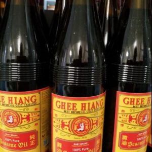 Ghee Hiang  Pure Sesame Oil 580ML