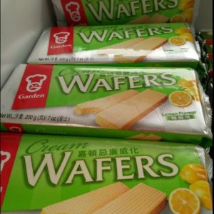 Lemon Flavour Cream Wafers,Garden Brand