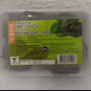 Fozen Lime Leaves 100g, BDMP Product of Thailand