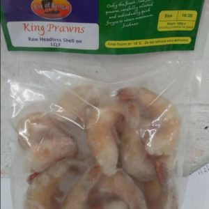 King Prawns 500g, Raw Headless Shell On 16/20, Bay...