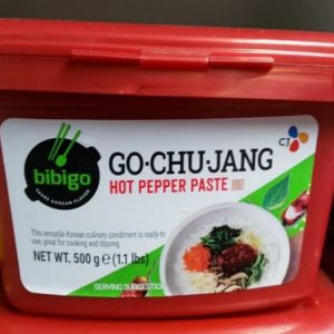 Hot Pepper Paste 500g, Go-Chu-Jang Bibigo Brand Pr...