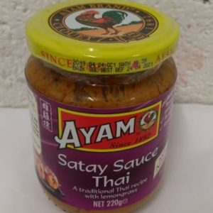 Satay Sauce Thai, Ayam A traditional Thai Recipe w...