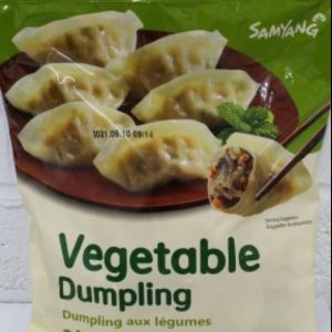 Vegetable Dumpling 600g Samyang Product of Korea
