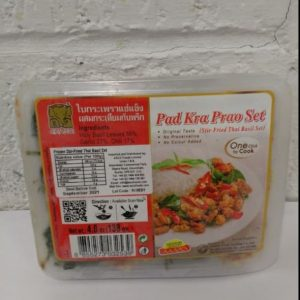 Pad Kra Prao Set, Original Taste of Thai Basil, St...