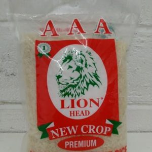 Jasmine Fragrant Rice 2kg,Lion Head Brand