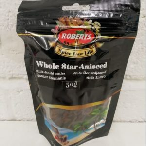 Whole Star Aniseed 50g,Roberts Spice your Life