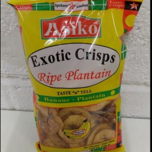 Ripe Yellow Plantain,Exotic Crisps,Asiko
