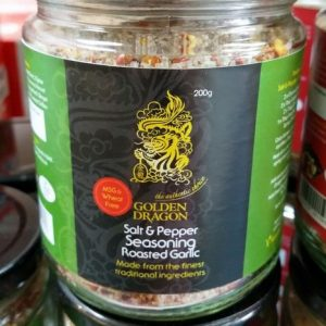 Salt & Pepper Seasoning, Roasted Garlic,Made from