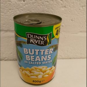 Butters Beans in Salted Water,Dunns River