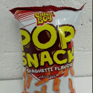 Pop Snack,Spaghetti Flavor,Chick Boy Product of th...
